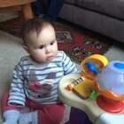 #宝宝##搞笑##荷兰混血小小志&柒#音乐音乐在哪里?哈哈哈!笑死我了!