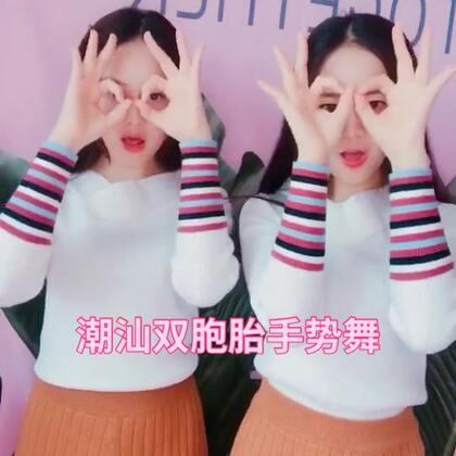 #佛系少女手势舞##精选#@美拍小助手 潮汕双胞胎!胶己人扣1 ❤️不是潮汕人扣2 💕