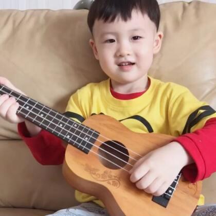 帅先森自弹自唱歌曲~听妈妈的话#帅帅成长记##宝宝##宝宝唱歌#
