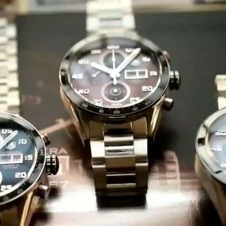 V6豪雅卡莱拉日历星期型计时腕表- 最新升级版-机芯完美克隆原装 全功能同步正品
