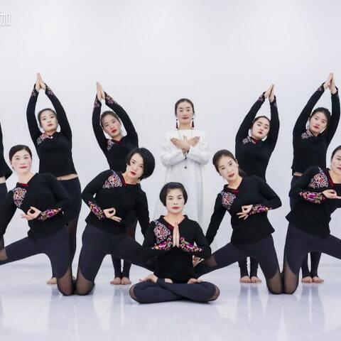 【单色瑜伽美拍】我在练#瑜伽#我感受到了快来~你...