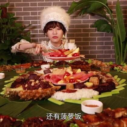 【三餐四季】万物复苏时节,快和大胃王mini约一桌春天的宴席!#吃秀##热门##大胃王mini#@美拍小助手