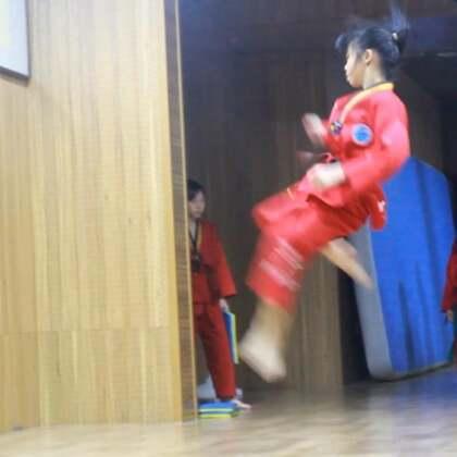 旋风曼曼彩排怀柔万达广场表演节目#运动##跆拳道##精选#