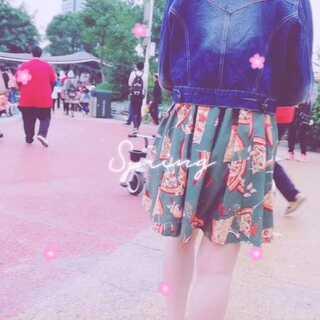 #you are so beautiful##广州市儿童公园##lolita日常#今天和可爱女装大佬🌸🌸