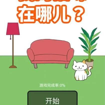 #才才游戏配音秀##我的猫咪在哪里##游戏#快跟我一起来找猫咪呀❤️
