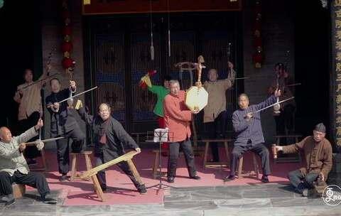 【更西安美拍】华阴老腔有着2000多年的历史,被...