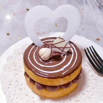 #i like 美拍##精选#甜点~对巧克力的比较好感🖖🏻送给爱吃甜食的你👐🏻#手工#