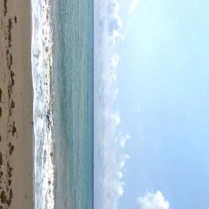 #好天氣#蓝天白云大海