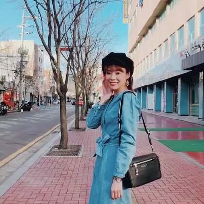 分享在韓國的穿搭 我拍了很多套唷 請期待 #穿秀#