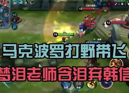 王者荣耀:坦克英雄为什么崛起?梦泪老师为何放弃韩信玩马克?#王者荣耀##游戏##梦泪#