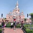 天气很好,出去玩一下。 😅#上海迪士尼乐园#