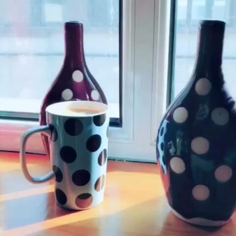 【张皓然美拍】#精选#我的波点主题馆,除了咖啡...