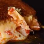 三明治的外表,披萨的内心!😘😘春天的甜美空气搭配芝士的浓香美味💘💘#我要上热门##半夏食谱##美食#