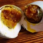 咸鸭蛋这样腌简单还容易出油#美食#