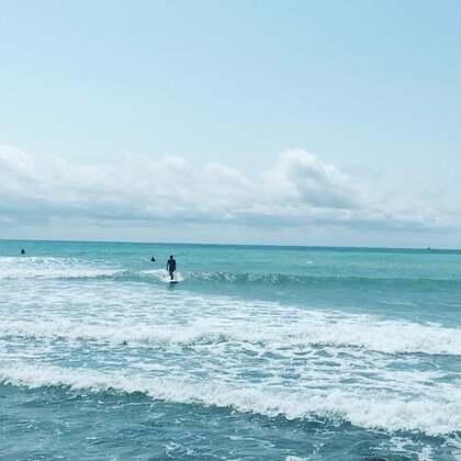 #好天氣##衝浪##滑板冲浪#