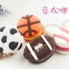 球球饼干钥匙扣⚽️🏀🏉我喜欢篮球,但是钥匙扣更喜欢足球,可后面两款是什么球呢?…#手工##粘土##篮球#购买学长同款的树脂粘土和手工制作材料,点后面看👉https://shop59172392.m.taobao.com