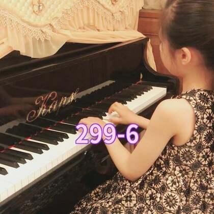 车尔尼299-6 小公主来吐泡泡了😊#宝宝##音乐#