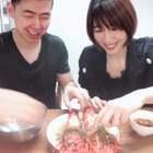 蒜蓉龙虾的制作过程,大口吃肉,爽~@RENE燕子[金三胖] #美食##吃货#