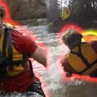划船差点被湍急的水流冲走,整个团队都负伤,还亲眼目睹了车祸,我的人生简直精彩😂#热门##搞笑#
