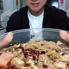 #吃秀##热门#开点荤😁毛血旺,我忘记要微辣了😭