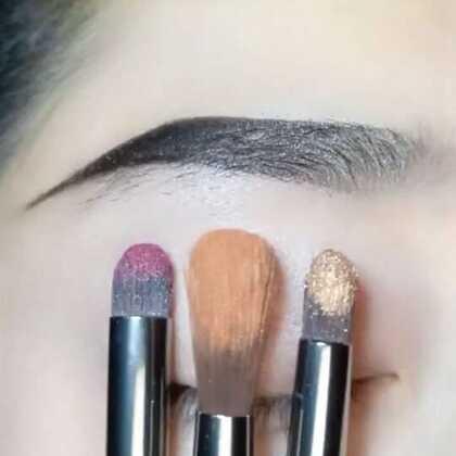 这三种颜色搭配喜欢吗@美拍小助手 #我要粉丝,我要上热门##美妆#