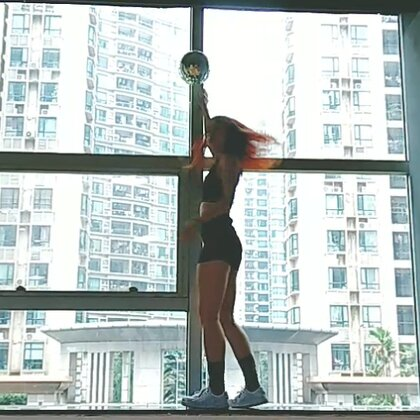 #越努力越幸运#美拍新功能:常听人家说啊,越努力越幸运哦@广州MegaSoul舞蹈培训 #精选##舞蹈#