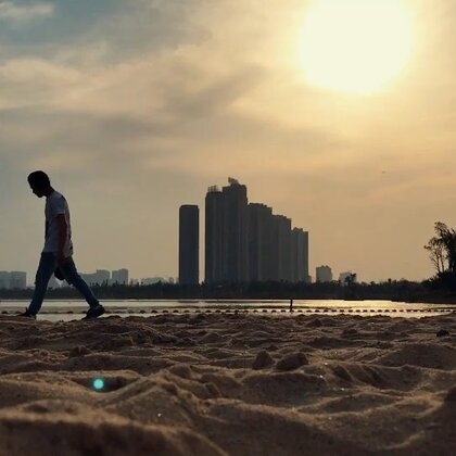 【黑色眼睛】阿军松雅湖一日游#精选##运动##长沙#
