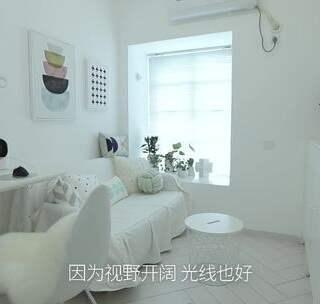 空管员的家 —— 繁忙工作以外,最爱沉浸在这92㎡的白色海洋#家居##室内装修##室内设计#