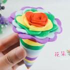 花朵冰淇淋~🌺🌸🌼为什么春天也这么热呢,我都开始吃冰淇淋了,你们那儿热吗?…#手工##冰淇淋##粘土#购买学长同款的粘土和各种手工制作材料,点后面看👉https://shop59172392.m.taobao.com