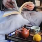 #唯美古风#请你喝一壶茶,忘记那些烦心事。