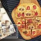 看起来像披萨?其实是原产意大利的扁面包【佛卡夏】!用香草橄榄油进行调味,在家也能感受异域美食风味! #美食##食谱##烹饪#