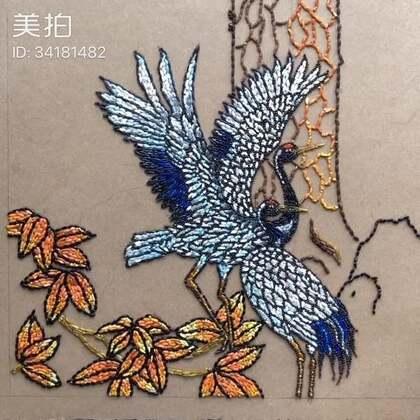 新作#大米拼画#【迎客松】局部图#我要上热门##热门#@美拍小助手
