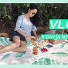 和我过一天周末 Part 2 下集 A day in the weekend vlog 野餐完顺便拍个穿搭,还有很多拍摄小技巧哦。回家看剧,丰富又放松。真的最爱拍日常了~ #穿秀##日志##时尚#