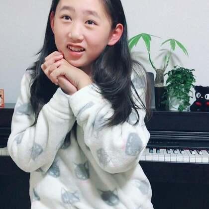 晚上睡觉前、丽奈自己编曲、自己演奏了一首钢琴曲!丽奈说:谢谢妈妈给我买的钢琴🎹非常喜欢这架钢琴♥️丽奈知道感恩了、妈妈好欣慰😘@美拍小助手 @小慧姐在日本 #宝宝##音乐##精选#
