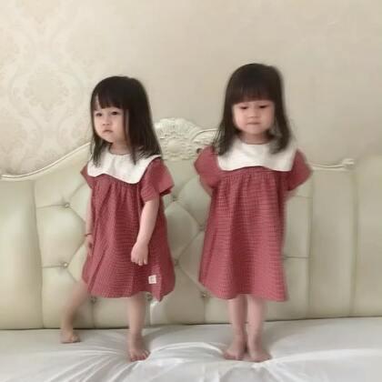 #跳舞##宝宝#@美拍小助手 好好的就干起来😳,然后秒和好。