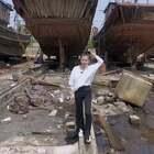 #我的假期日记##我要上热门#航拍船厂~这里的船有的在保养,有的维修。@美拍小助手