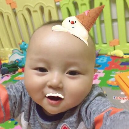 #宝宝#随便拍一段,琛琛9个月24天😘
