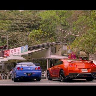 还记得你儿时的梦想? 日产GTR追梦-是一辈子的。#第一个美拍##跑车##汽车#