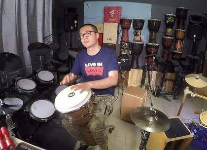 #音乐##非洲鼓##手鼓# 非洲鼓 手鼓 和寂寞碰一杯 凯文先生