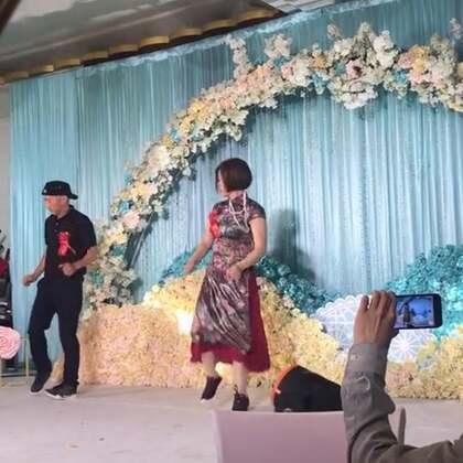新郎的父母好会跳👍#精美电影##舞蹈#