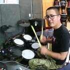 #音乐##架子鼓##爵士鼓# 凯文先生 架子鼓 爵士鼓 梦的堡垒