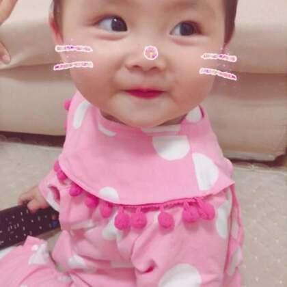 问她去不去看电影 还会拜拜了 小宝宝 米米的微笑:jam11_1994 ~🌈#宝宝##精选#