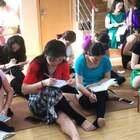 【2018.03期肚皮舞教练班-回顾篇】这一期我内心特别有感触,因为这一期真的太用功了,早上9点才上课,她们大部分人早上7点多就自觉到教室自己复习了#舞蹈##肚皮舞#每位学员都是从外地来南京学习LPD系统教培,这也证明我们的体系越来越有说服力!大家回到自己的城市后一定要坚持舞蹈❤️
