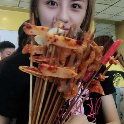 吃串串,辣死了😂😂#吃秀##热门#