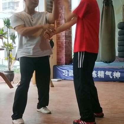 擸打训练#咏春拳#