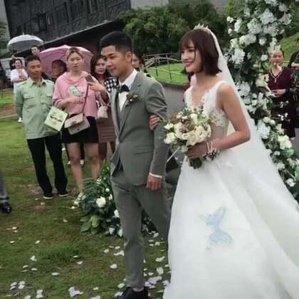 美丽的新娘👍#精美电影##婚纱##婚礼现场#