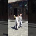 长安雅士薛佩生和友人胡宗圆先生游八仙宫。抚琴,品茶,吟诗作赋。