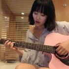 黄龄吉他弹唱《消愁》,好赞!❤