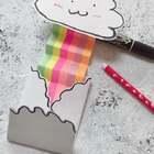 能让人心情变好的彩虹卡,祝你天天开心,#心情美腻!