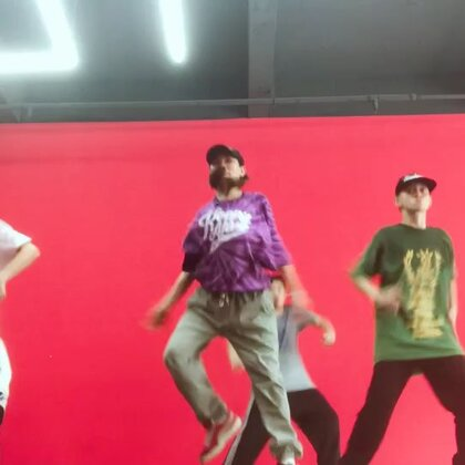 哈哈看hiphop课堂放炮片段#梧州spt舞蹈工作室#
